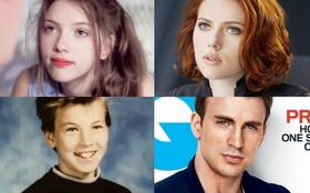 """Té ngửa ảnh hồi bé của dàn sao """"Avengers"""": Scarlett như hotgirl, Captain dậy thì xuất sắc nhưng Hulk mới gây choáng"""