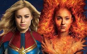 """CÓ THỂ BẠN CHƯA BIẾT: """"X-Men: Dark Phoenix"""" phải quay lại đoạn kết vì sợ """"đạo"""" Captain Marvel"""