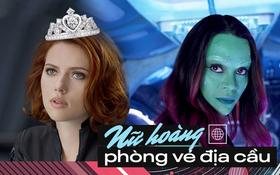 """Sở hữu phim hốt bạc 1 nhất 1 nhì hành tinh, """"Gamora"""" vẫn mất ghế nữ hoàng phòng vé trước Góa phụ địa cầu Scarlett Johansson!"""