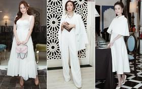 Tuyền một tông trắng trên thảm đỏ: Jun Vũ, Kaity Nguyễn và Châu Bùi - nàng nào phong cách nhất?