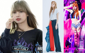 """Nếu không phải Lisa (Blackpink) thì idol nào mới có thể """"cân"""" được đống trang phục khó cảm nhường này?"""