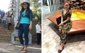 Nhờ kết hợp tập luyện với Eat Clean, cô gái Hà Nội đã giảm 8kg và 18cm vòng bụng chỉ trong 3 tháng