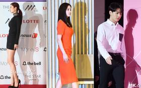 Lạ đời sao Hàn gây sốt vì... cái bóng quá đẹp: Người khoe body và góc mặt siêu phẩm, kẻ bị cả bóng lấn át