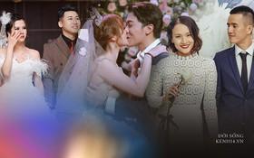 Ngày cưới của loạt YouTuber đình đám: Cris Phan và Huy Cung tưởng lầy lội lại toàn nói ngôn tình, Giang Ơi quăng luôn cả chồng xuống bể bơi