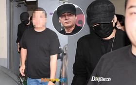 NÓNG: Cựu chủ tịch YG lần đầu trình diện cảnh sát vào nửa đêm, đeo khẩu trang trốn truyền thông bằng lối ra hầm đỗ xe