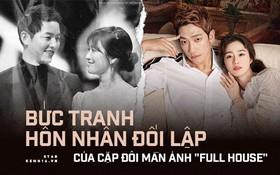 """Bức tranh hôn nhân đối lập của cặp đôi """"Full House"""": Song Song vỡ tan, Bi Rain và Kim Tae Hee con cái đuề huề"""