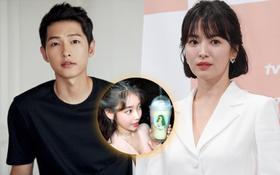 Ngộ nghĩnh chưa? Phim chồng đóng chẳng buồn hỏi thăm, Song Hye Kyo lại đi tặng xe đồ ăn siêu to siêu khổng lồ cho người này!