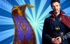 Bất ngờ chưa, Thảm Thần của Aladdin lại giống Áo Choàng của Dr. Strange đến kì lạ