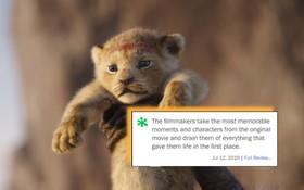 """Khán giả chia phe """"đánh nhau"""" sau suất chiếu sớm The Lion King: """"Kĩ xảo đỉnh cỡ nào cũng không thay thế được hoạt hình thuần tuý!"""""""