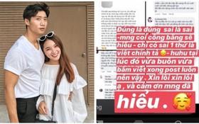 """Tôn Kinh Lâm rời """"Cuộc đua kỳ thú"""", bạn gái chàng hot boy bị """"ném đá"""" vì viết story ám chỉ người khác không thông minh nhưng lại sai chính tả be bét?"""
