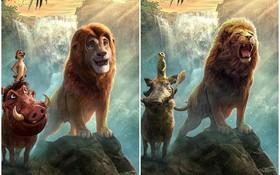 """The Lion King bị chê tạo hình không giống bản gốc, người hâm mộ gửi ngay sáng kiến cực """"mặn"""""""