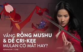 """Mulan vắng chú dế Cri-Kee và rồng Mushu huyền thoại, """"tượng sáp"""" Lưu Diệc Phi có hút nổi người xem?"""