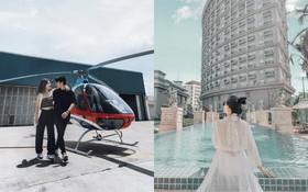 Hội con nhà giàu Việt khi đi Vũng Tàu: Ở khách sạn 5 sao chẳng là gì so với việc bỏ 6 triệu đồng cho 30 phút đi trực thăng ngắm cảnh!