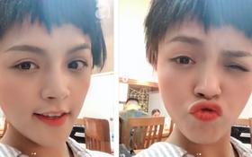 """Không còn là chị Huệ của """"Về Nhà Đi Con"""", Thu Quỳnh bỗng xuất hiện với mái tóc lởm chởm, ngắn nhất từ trước đến nay"""