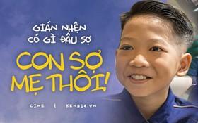 """""""Bé Cu"""" hát siêu hay của Anh Thầy Ngôi Sao - Nguyễn Minh Chiến: Chuột gián có gì đâu mà sợ, con sợ mẹ nhất!"""