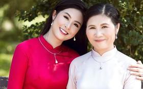 Hoa hậu Ngọc Hân hiếm hoi khoe mẹ trẻ đẹp, gửi tâm thư xúc động đến đấng sinh thành nhân lễ Vu Lan