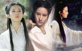 """Đóng Tiểu Long Nữ chưa xong, Mao Hiểu Tuệ lại """"cosplay"""" vai khác Lưu Diệc Phi khiến người xem không ngỏi ngỡ ngàng!"""