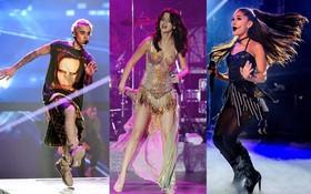 Những cú trượt ngã để đời của sao US-UK trên sân khấu: Taylor Swift, Ariana Grande, Lady Gaga,... đồng loạt có mặt!
