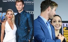 Angelina Jolie một lần nữa làm người thứ 3, làm tan vỡ hạnh phúc gia đình Chris Hemsworth?