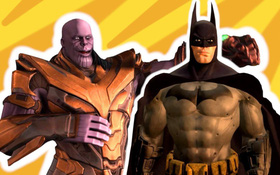 Rất thú vị, đây là tựa game đầu tiên có sự xuất hiện của cả nhân vật Marvel và DC
