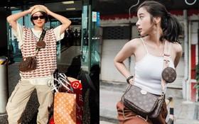 """Có quá nhiều màn đụng hàng của sao Âu - Á và tất cả chỉ vì chiếc túi """"phá đảo showbiz"""" của Louis Vuitton"""
