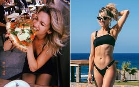 Nghiện pizza nhưng quý cô Ashley Roberts (Pussycat Dolls) vẫn có bí quyết giữ dáng hoàn hảo ở tuổi 38