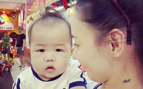 Lần đầu công khai ảnh cận mặt con trai út, Trương Bá Chi gián tiếp phủ nhận cha đứa trẻ là người ngoại quốc
