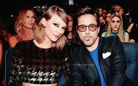 """""""Iron Man"""" Robert Downey Jr. gây phẫn nộ khi """"cạnh khóe"""" Taylor Swift như... nhện cái trên talkshow hàng đầu nước Mỹ"""