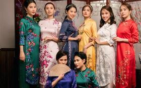 Quỳnh Nga, Diễm My và dàn mỹ nhân đình đám Hà Thành cùng nhau chúc Tết, trông rất xinh mà cái kết khó đỡ!