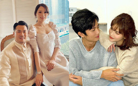 2 cặp đôi mới Phillip Nguyễn - Linh Rin và Huỳnh Phương - Sĩ Thanh: Gu thời trang đồng điệu, càng nhìn càng thấy rõ nét phu thê
