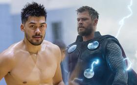 """Để râu quai nón cực chất, trai đẹp cao 2m01 hóa thân thành """"Thần sấm Thor"""" trong ngày hội quân cùng Danang Dragons"""