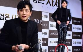 """Loạt ảnh cũ của """"thánh sống"""" leo top Naver: """"Ngã ngửa"""" khi nhìn xuống chân, cả xứ Hàn có lẽ chỉ mình anh cân được!"""