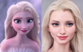 Các nhân vật trong vũ trụ Disney sẽ như thế nào ở phiên bản thực?