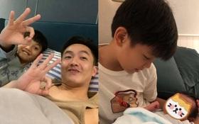 Cha con Cường Đô La tranh nhau xem ai đẹp trai hơn, Đàm Thu Trang liền có câu trả lời đầy hợp lý