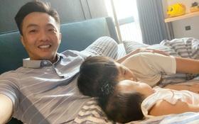 Cường Đô La khoe khoảnh khắc hạnh phúc bên 2 nhóc tỳ, nhìn là biết tình cảm của Subeo và em gái như thế nào!