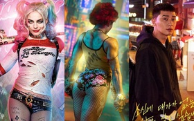 """Ngô Thanh Vân tung poster Thanh Sói siêu màu mè, nhìn qua cứ tưởng Harley Quinn """"ghé chơi"""" Tầng Lớp Itaewon!"""
