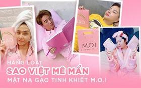 """Mới """"chào sân"""", mặt nạ gạo tinh khiết của Hà Hồ đã """"gây mê"""" hàng loạt ngôi sao đình đám showbiz Việt"""