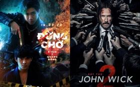 """MV mới chưa kịp lên sóng, poster của K-ICM đã bị netizen tố đạo nhái poster phim """"bom tấn"""" Mỹ """"John Wick 2""""?"""