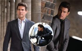 """Lộ hậu trường """"Mission: Impossible 7"""": Tom Cruise bốc đầu phân khối lớn cực ngầu, chuẩn """"sugar daddy"""" của chị em đây rồi!"""