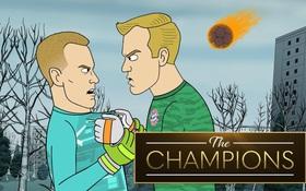 """Hoạt hình """"Những nhà vô địch"""" phần 1: Liên minh thủ môn mặc giáp Iron Man cản phá thiên thạch tấn công Trái Đất và cái kết khó đỡ"""