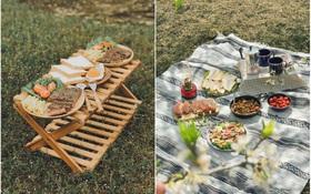 """Đi cắm trại thôi mà nấu cả bàn tiệc đồ ăn """"xịn"""" như nhà hàng 5 sao, chàng trai 9x khiến hội chị em phát sốt muốn… cưới về làm chồng!"""