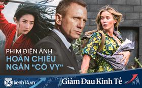 """Hàng loạt bom tấn dời lịch chiếu, Hollywood chung tay """"né"""" cúm: Đến """"siêu điệp viên 007"""" cũng phải đeo khẩu trang tránh dịch"""