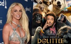 """Ngộ chưa: """"Chị Bích Nụ"""" Britney Spears hết lời ca ngợi """"bom xịt"""" của Người Sắt Robert Downey Jr?"""