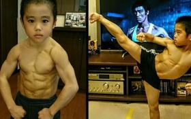 Ngỡ ngàng trước truyền nhân nhí của Lý Tiểu Long: Mới 10 tuổi đã sở hữu 6 múi cực phẩm, khả năng võ thuật tới Chân Tử Đan cũng phải chào thua