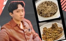 """Trấn Thành lần đầu trổ tài nấu ăn phụ vợ, nhìn thành quả đã hiểu lý do vì sao Hari Won muốn """"đuổi"""" ra khỏi nhà!"""