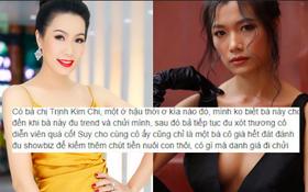 """Trà My """"Thương nhớ ở ai"""" gây phẫn nộ với phát ngôn nghệ sĩ làm từ thiện để PR, mỉa mai NSƯT Trịnh Kim Chi"""