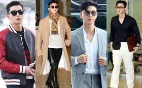 """""""Ông chủ Danbam"""" Park Seo Joon đúng là nam thần sân bay: Lúc như CEO đã giàu còn soái, khi đi dép xỏ ngón cũng ngầu như catwalk"""