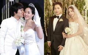 """Sao Hàn kết hôn với mối tình đầu: Tài tử """"Thử thách thần chết"""" chung thuỷ với tình 13 năm, chuyện tình Taeyang với minh tinh hiếm có"""