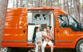 Đôi vợ chồng bỏ 120 triệu đồng mua ô tô cũ về làm thành ngôi nhà di động với đầy đủ bếp núc, phòng ngủ rồi chở con đi du lịch khắp Việt Nam!