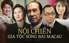 Những người thừa kế đáng gờm nhất trong cuộc chiến 'xâu xé' đế chế sòng bạc Macau hàng trăm nghìn tỷ đồng của ông trùm Hà Hồng Sân